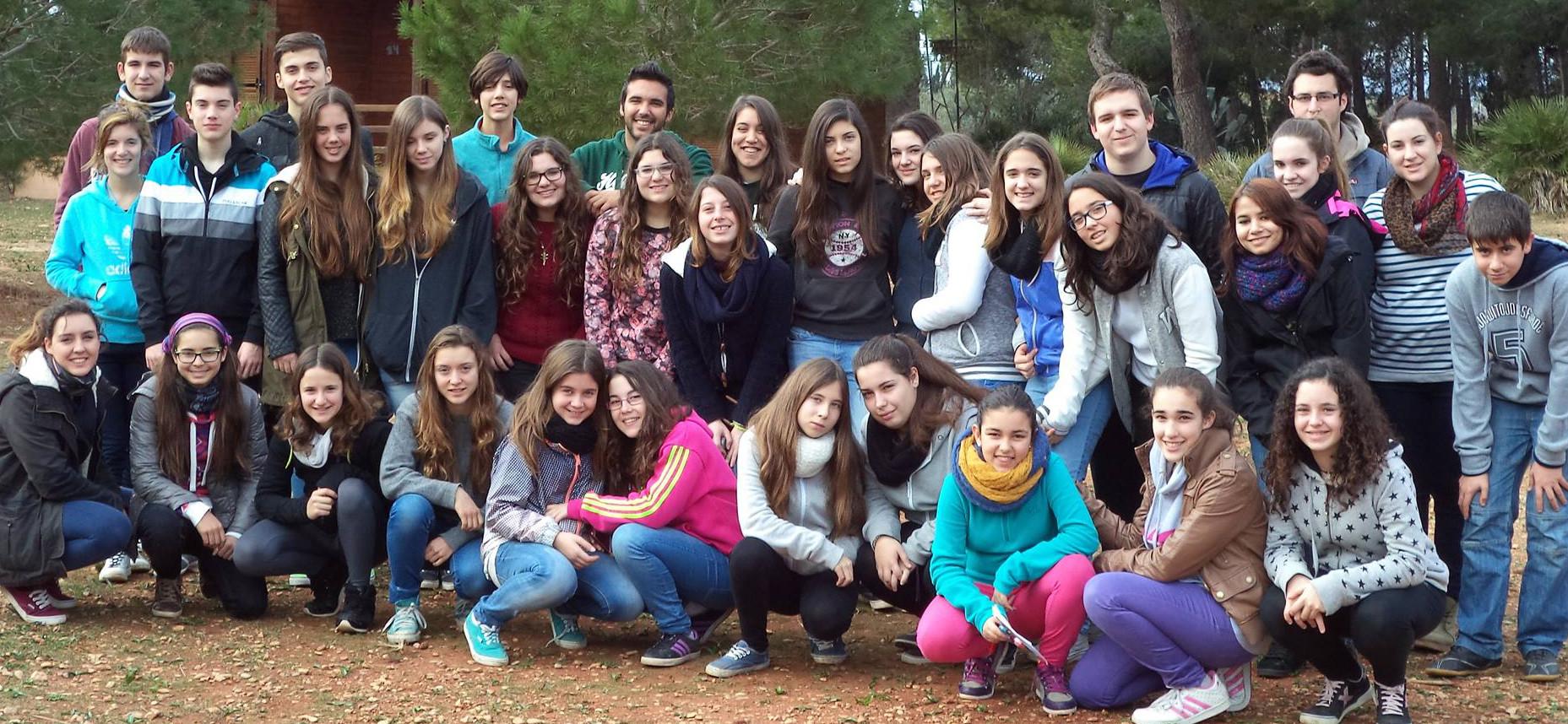 30 joves de 4 associacions a la XX Acampada de Joves Gener '14