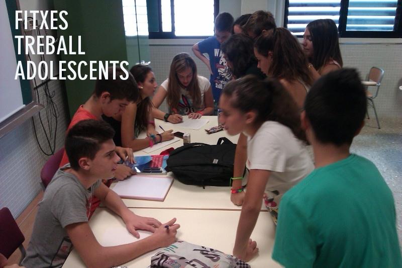 Fitxes bàsiques per a treballar amb adolescents
