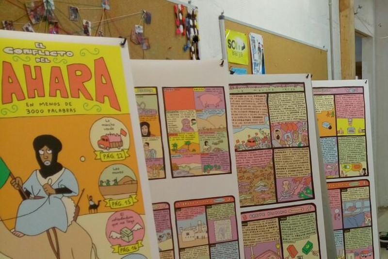 Exposició: El Sahara en 3000 paraules