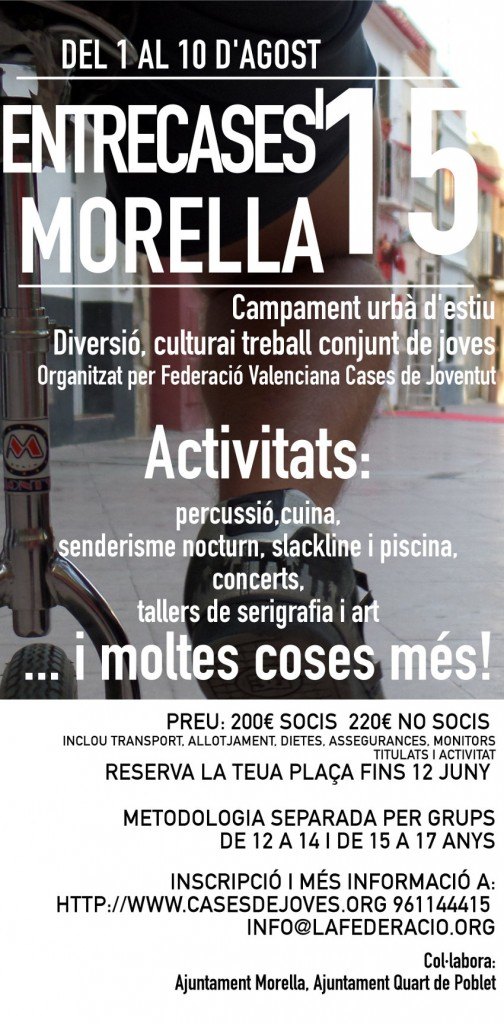 cartell-II-ENTRECASES-FEDERACIÓ-agost-2015-2