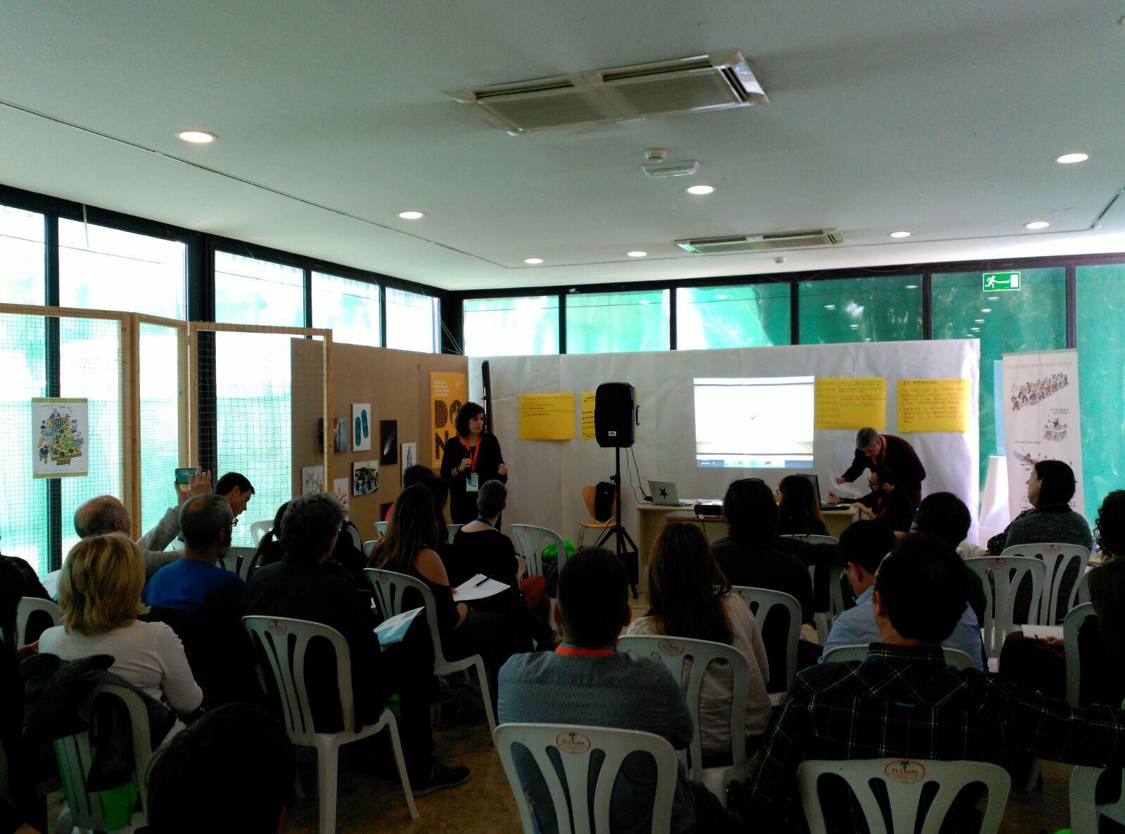 Presentació de les experiències de la Federació en la trobada d'Oci Educatiu