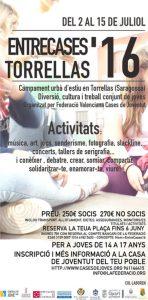 cartell II IENTRECASES FEDERACIÓ JULIOL 2016web