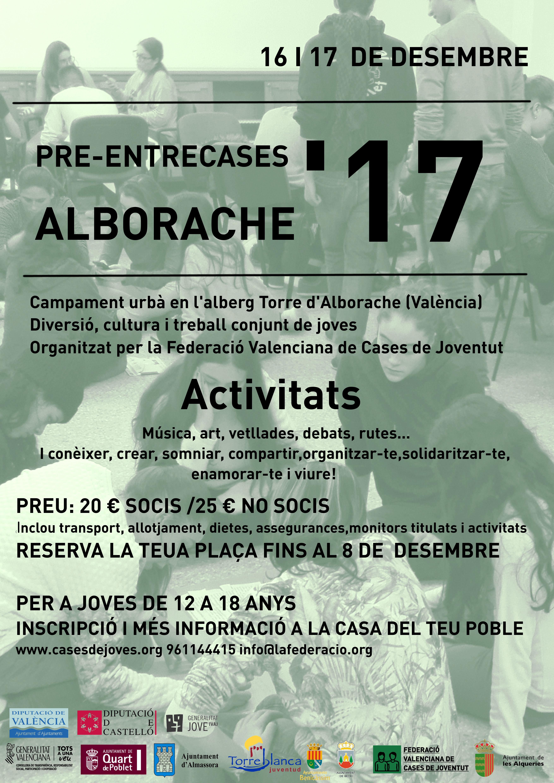 Obertes les inscripcions del Pre-Entrecases Alborache 2017